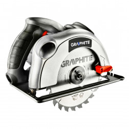 Diskinis pjūklas GRAPHITE 1200 W, diskas 185mm,