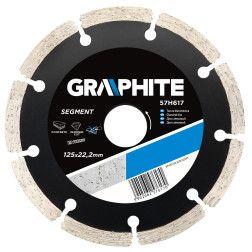 Deimantinis diskas skersmuo 125 mm,  segmentas