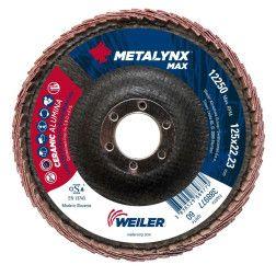 Lapelinis šlifavimo diskas užlenktas 125X22 Metalynx Max P60