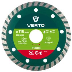 Pjovimo diskas, deimantinis, Turbo, 115mm.,