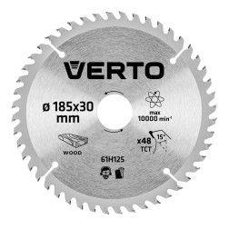 Pjovimo diskas 185 x 30 mm, 48 d. medienai