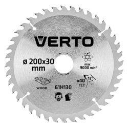 Pjovimo diskas 200 x 30 mm, 40 d. medienai