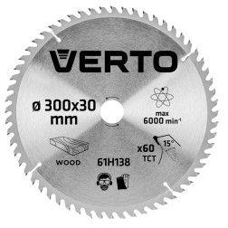 Pjovimo diskas 300 x 30 mm, 60 d. medienai