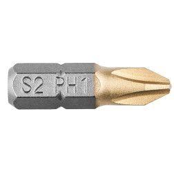 "Antgaliuku kompl. PH1, 25mm, 1/4"", 2vnt.."