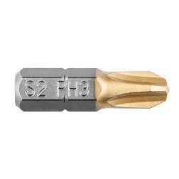 "Antgaliuku kompl. PH3, 25mm, 1/4"", 2vnt.."