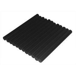 Klijų lazdelės 11x250mm, 12 vnt juodos