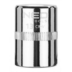 """Galvutė šešiakampė  1/4"""", 13mm, Neo"""