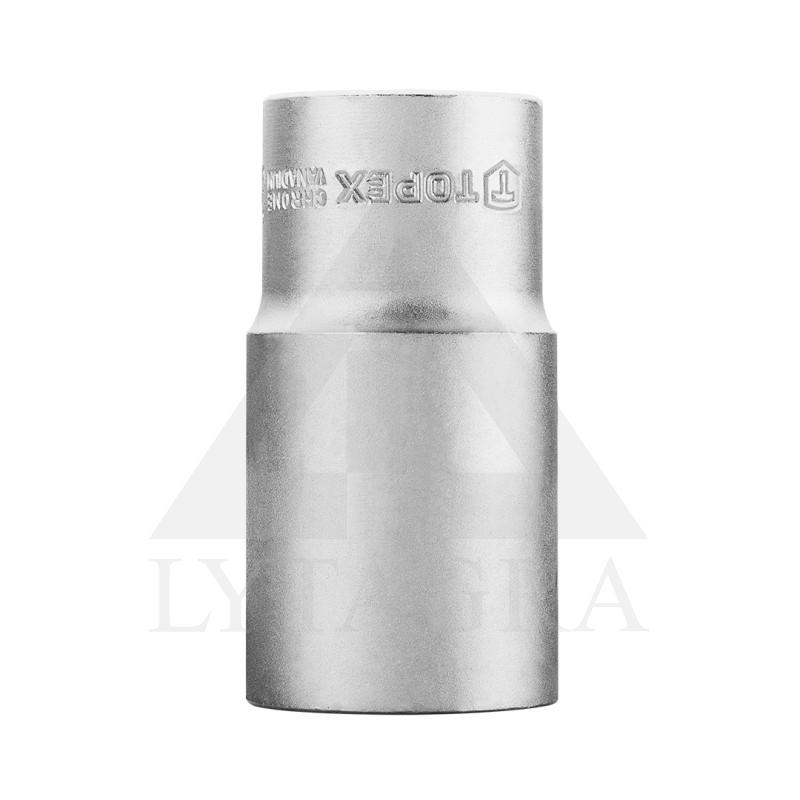 """Galvutė šešiakampė, ilga 1/2"""" 30 mm., CrV"""