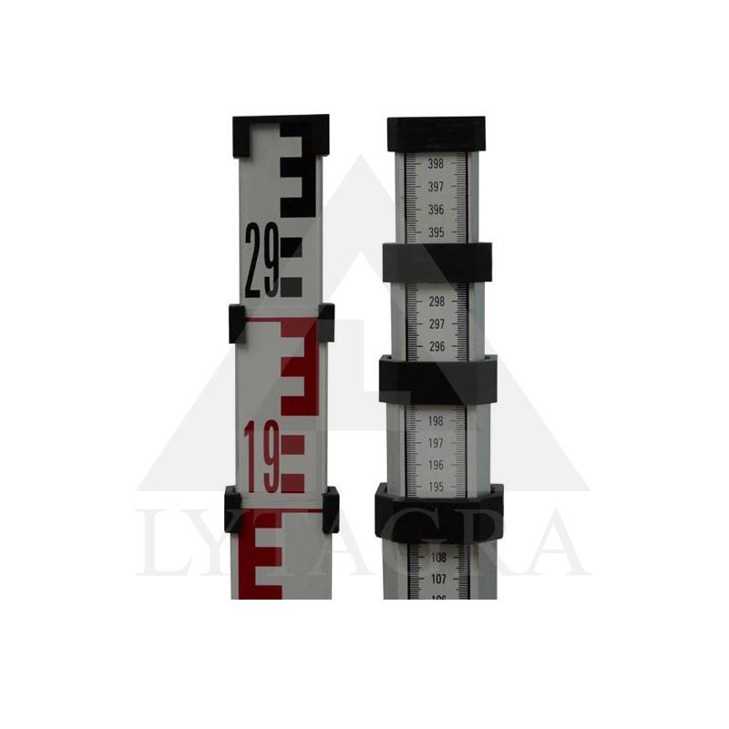 Teleskpinė liniuotė nivelyrui TC2-55A (5 m)