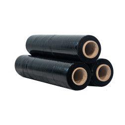 Stretch plėvelė juoda 450mm x 17mkr x 200m K (S)