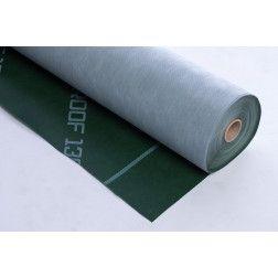 ROOF 130+TAPE difuzinė plėvelė, 75m2 (žalia/balta)