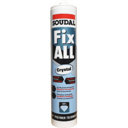 Fix all Crystal 290ml - klijuojantis hermetikas