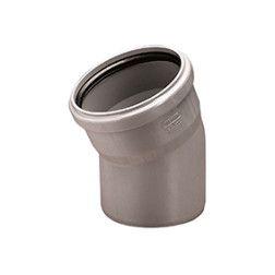 OPTIMA PVC alkūnė 50/45°