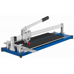 Prietaisas glazūruotoms plytelėms pjaustyti KAUFMANN TOPLINE STANDART 630 mm plieniniu pagrindu