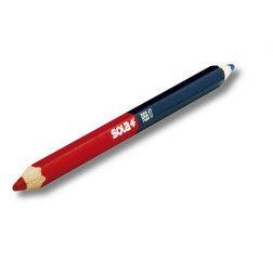 Pieštukas RBB raudonas/mėlynas Sola 17cm