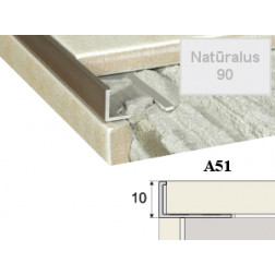 Profilis Effector, užbaigimo A51 natūralus 300 cm 10 mm
