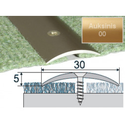 Profilis Effector A03 sujungimo auksinis 180 cm 30x5 mm