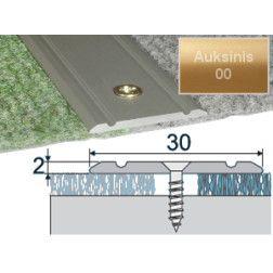 Profilis Effector A02 sujungimo auksinis 180 cm 30x2 mm