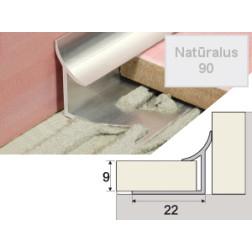 Profilis Effector A96 užbaigimo natūralus 300 cm
