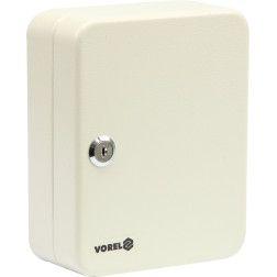 Dėžutė raktams pakabinama Vorel 200x160x78mm, 15 kabliukų, 2 raktai