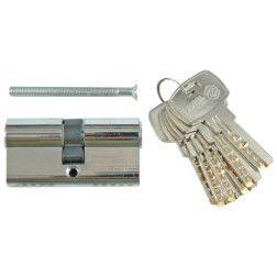 Spynos šerdelė su 6 raktais, žalvarinė Vorel 62mm, L31/31mm