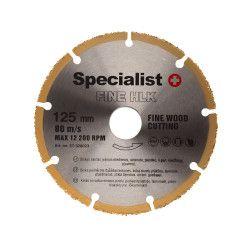 Pjovimo diskas FINE HLK 125 mm