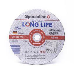 Metalo pj.diskas LONG LIFE 230x1,9x22 mm