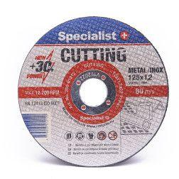 Metalo pj.diskas 125x1,2x22 mm