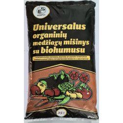 Universalus organinių medžiagų mišinys su biohumusu 25Ltr