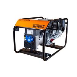 Benzininis elektros generatorius GENERGA SP6H vienfazis 230V 6,0 kVA