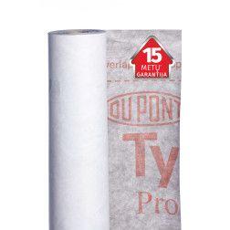 TYVEK PRO + TAPE, difuzinė plėvelė su lipnia juosta, 1,5m x 50m,(75m2)