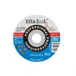 Metalo pjovimo diskas 125x1.0x22, ViTa-TooL