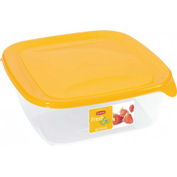 Indelis FRESH & GO, 1,7 L, kvadratinis,geltonas