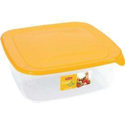 Indelis FRESH & GO, 2,9 L, kvadratinis,geltonas