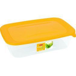 Indelis RESH & GO, 2,0 L, stačiakampis,geltonas