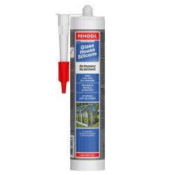 Šiltnamių silikoninis hermetikas PENOSIL GlassHouse Silicone, bespalvis, 310 ml