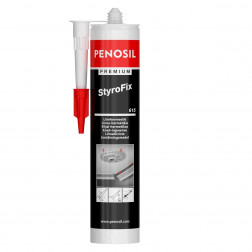 Montažiniai klijai PENOSIL Premium StyroFix 615, balti, 280 ml