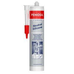 Neutralus silikoninis hermetikas PENOSIL Standard Neutral Silicone, baltas, 280 ml