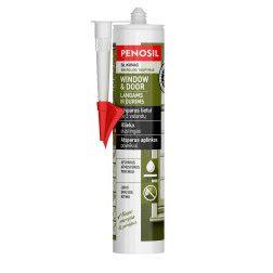 Silikoninis hermetikas PENOSIL Window & Door, bespalvis, 310 ml