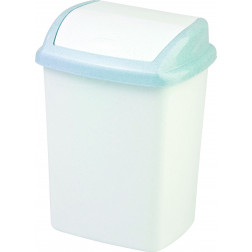 Šiukšliadėžė CLICK-IT, 25 L, sidabrinė
