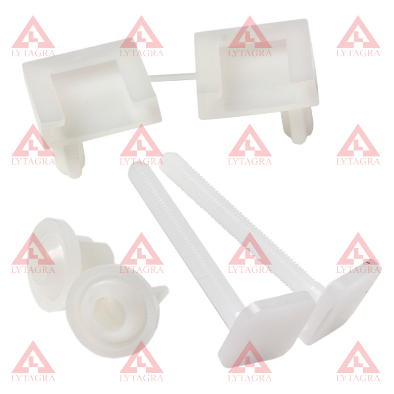 Varžtai WC dangčiui (plastmasiniai) (LA745)
