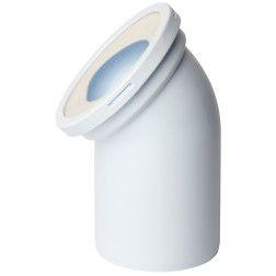WC alkūnė 110mm, 45 laipsnių (W4220)