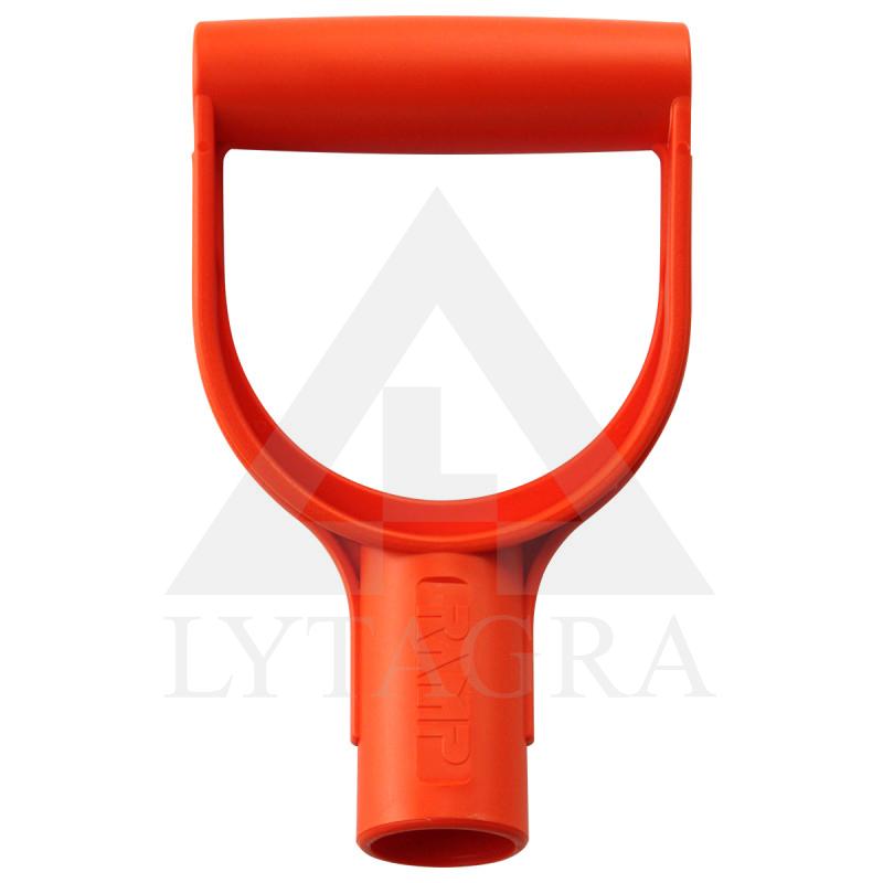 Porankis plast. ergonominis D 32mm, oranžinis, VERTAS