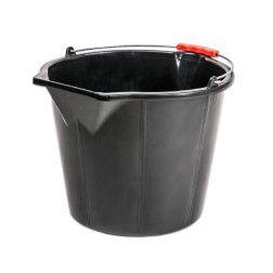 Kibiras statybinis sustiprintas 15l, juodas
