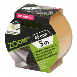 Dvipusė tekstilinė juost. 48mm x 5m , ZOOM