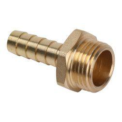 Jungtis dujoms išoriniu sriegiu 1/2, žarna D9mm (PRA4)