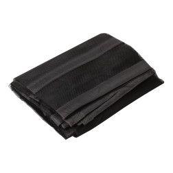 Tinklelis durims nuo uodų su magnetais juodas 100 cm x 210/220 cm (2 d