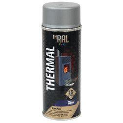 INRAL THERMAL, aliumin. RAL9006, dažai aerozoliniai atsparūs karščiui