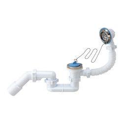 Sifonas ANI voniai 1 1/2 plokš., su perlaja, su vamz. 45 40 50 (E056E)