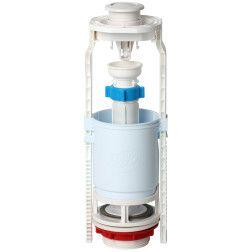 Kolonėlė vand. nuleidimo su plast. mygtuku,D 60mm,H 300-440mm WC7030M